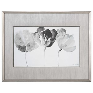 Uttermost Art Trio In Light Floral Print