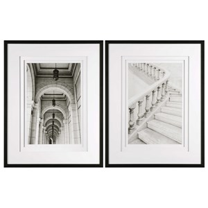 Uttermost Art Moments Architectural Prints Set of 2