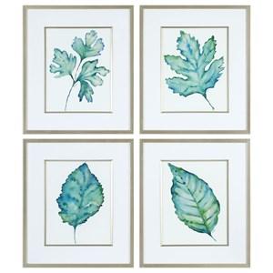 Uttermost Art Spring Leaves Prints
