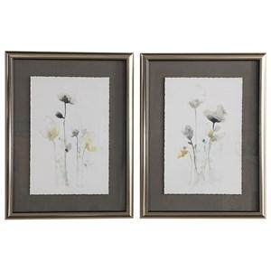 Uttermost Art Stem Illusion Floral Art