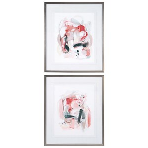 Uttermost Art Soft Speak Abstract Prints