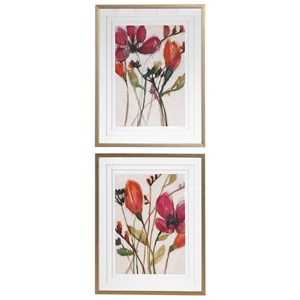 Vivid Arrangement Floral Prints
