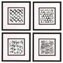 Uttermost Framed Prints La Mer Framed Prints, Set/4 - Item Number: 33698