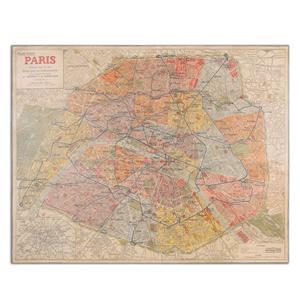 Uttermost Art Paris Nouveau Plan Giclee Artwork