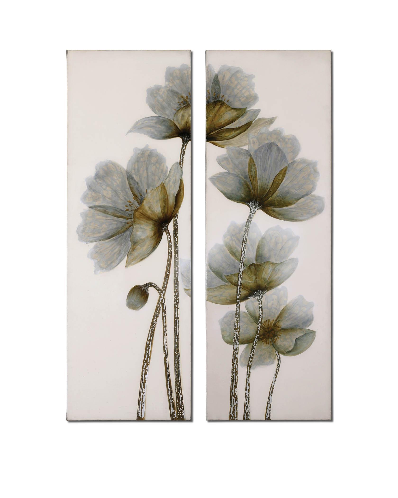 Uttermost Art Floral Glow Set of 2 - Item Number: 34201