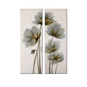 Uttermost Art Floral Glow Set of 2