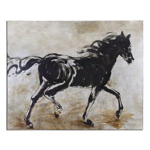 Uttermost Art Blacks Beauty Horse Art