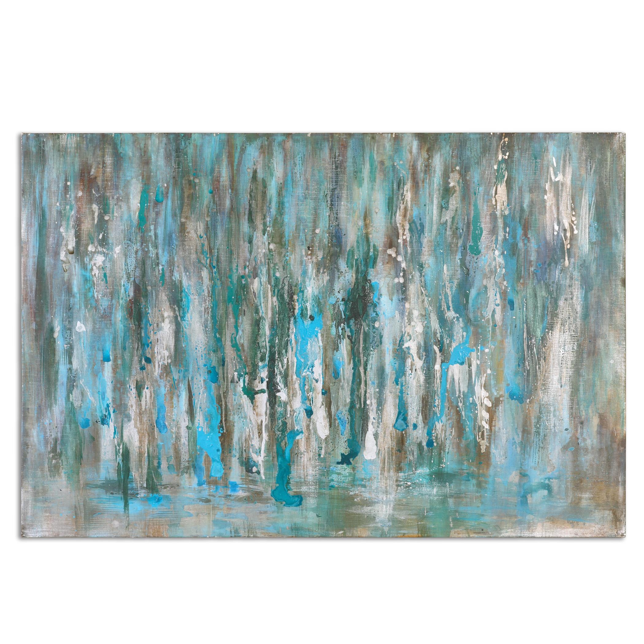 Uttermost Art Cascades Modern Art - Item Number: 34298
