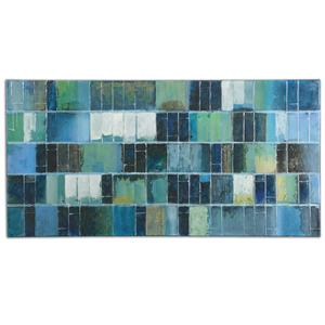 Uttermost Art Glass Tiles Modern Art