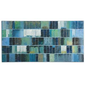 Uttermost Art Glass Tiles Modern Art