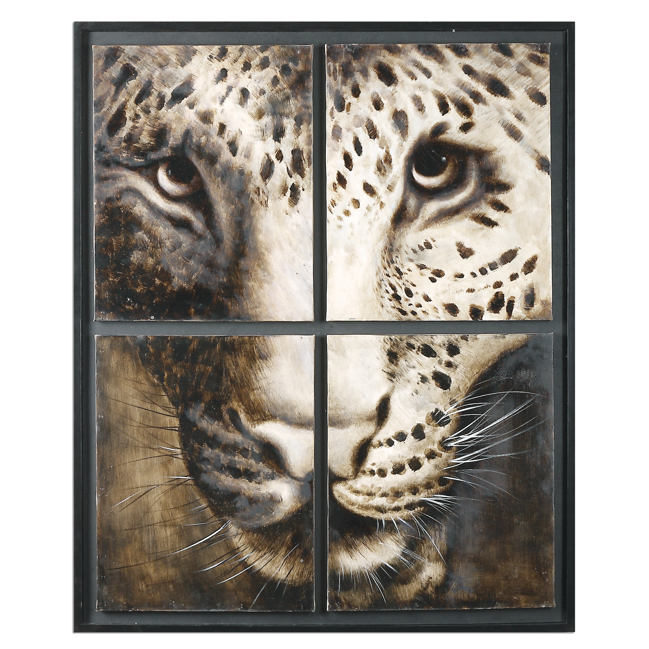 Uttermost Art On The Prowl Animal Art - Item Number: 34305