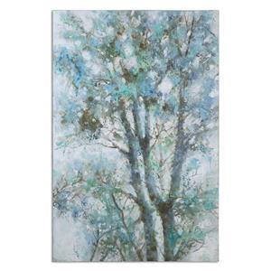 Uttermost Art Shade Canopy Canvas Art