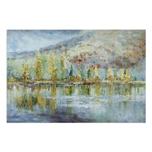 Uttermost Art Autumn Reflection Landscape Art