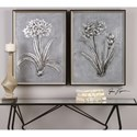 Uttermost Art Contemporary Botanicals (Set of 2)