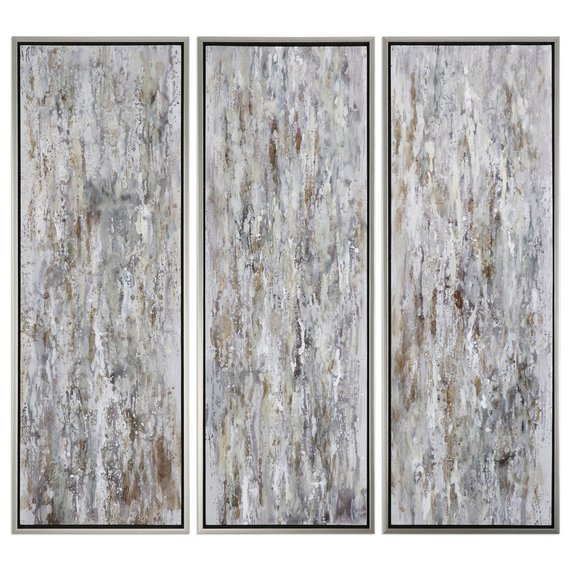 Uttermost Art Shades Of Bark (Set of 3) - Item Number: 34363