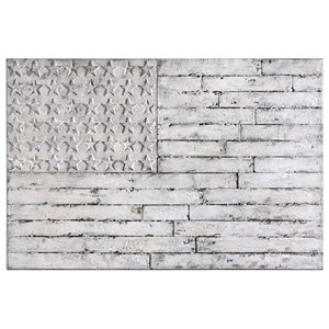 Uttermost Art Blanco American Wall Art