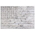 Uttermost Alternative Wall Decor Blanco American Wall Art - Item Number: 34365