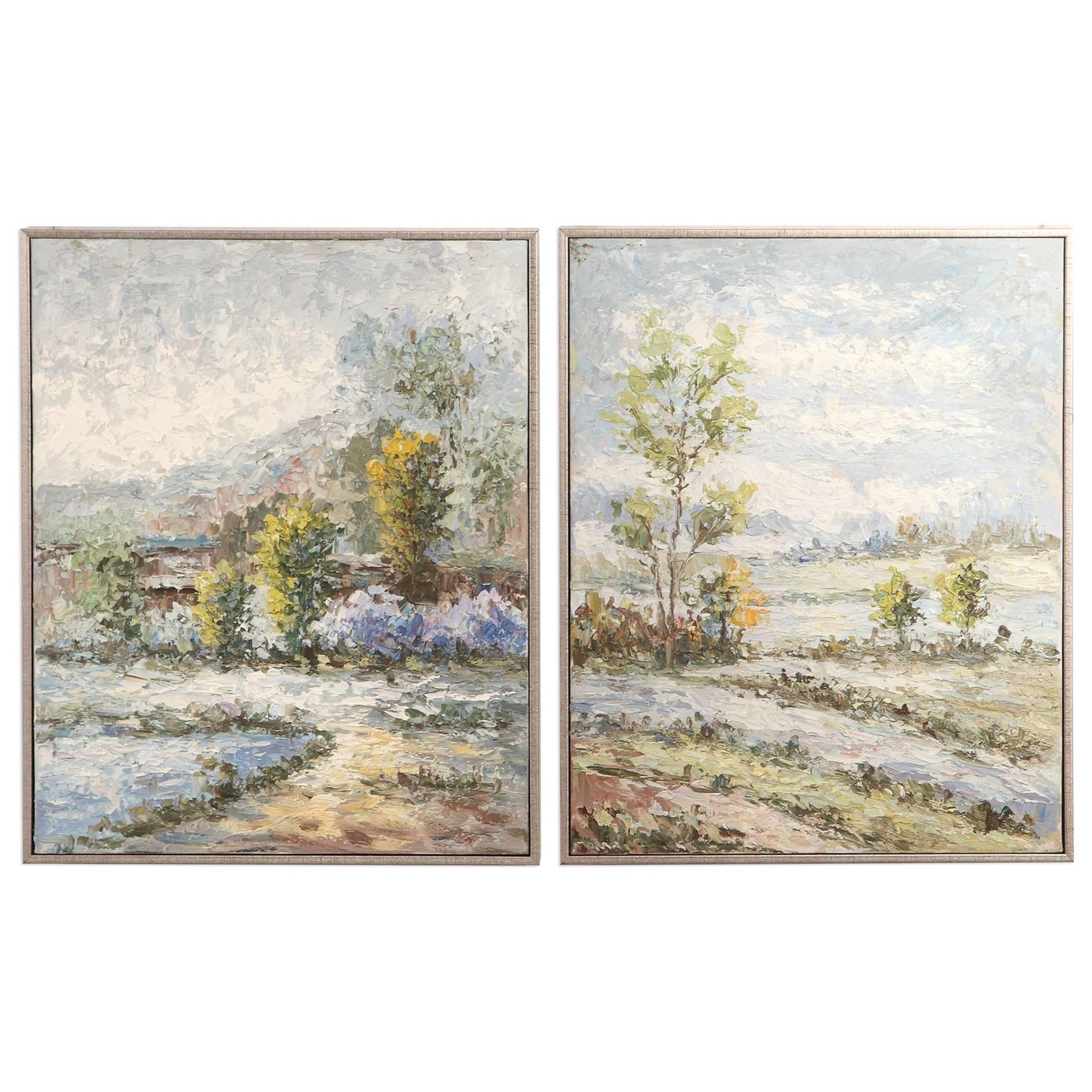 Wayward Rivers Landscape Art