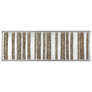Uttermost Art Rustic Fence Abstract Art