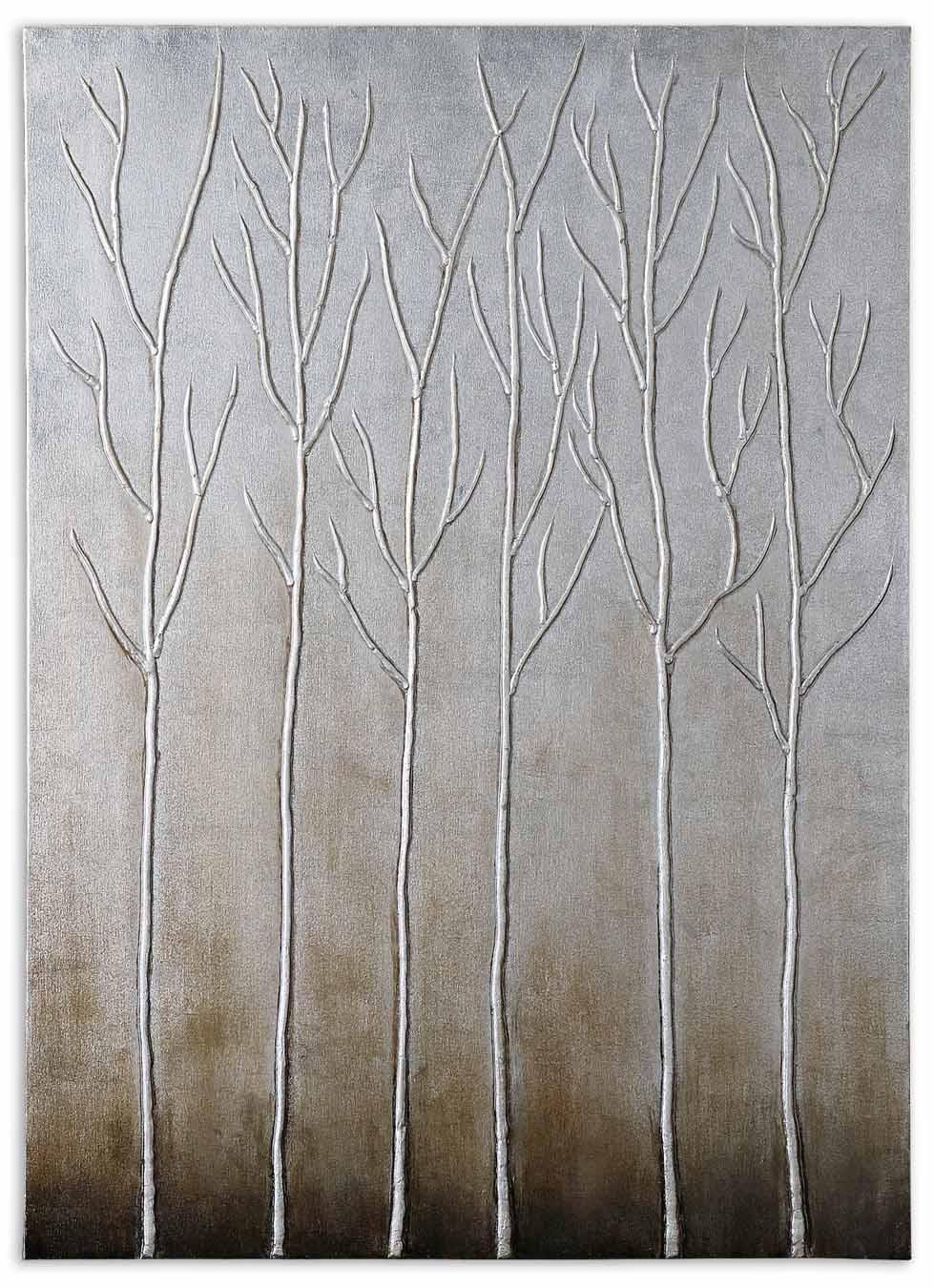 Uttermost Art Sterling Trees - Item Number: 35105