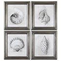 Uttermost Art Shell Schematic (Set of 4) - Item Number: 35247