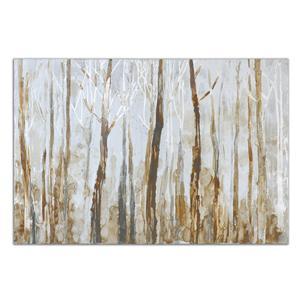Uttermost Art Mystic Forest Hand Painted Art