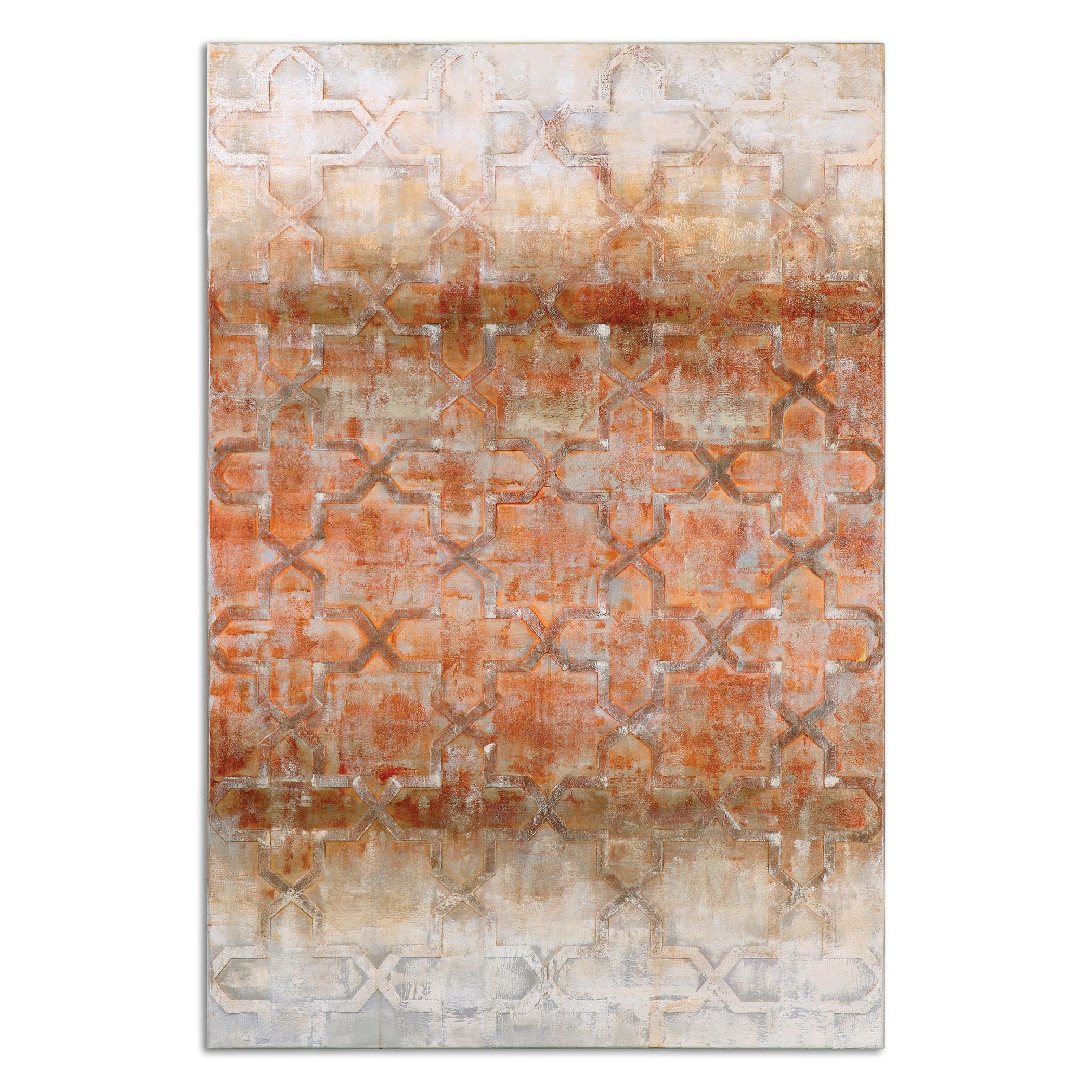Uttermost Art Geometric Impressions Modern Art - Item Number: 35309