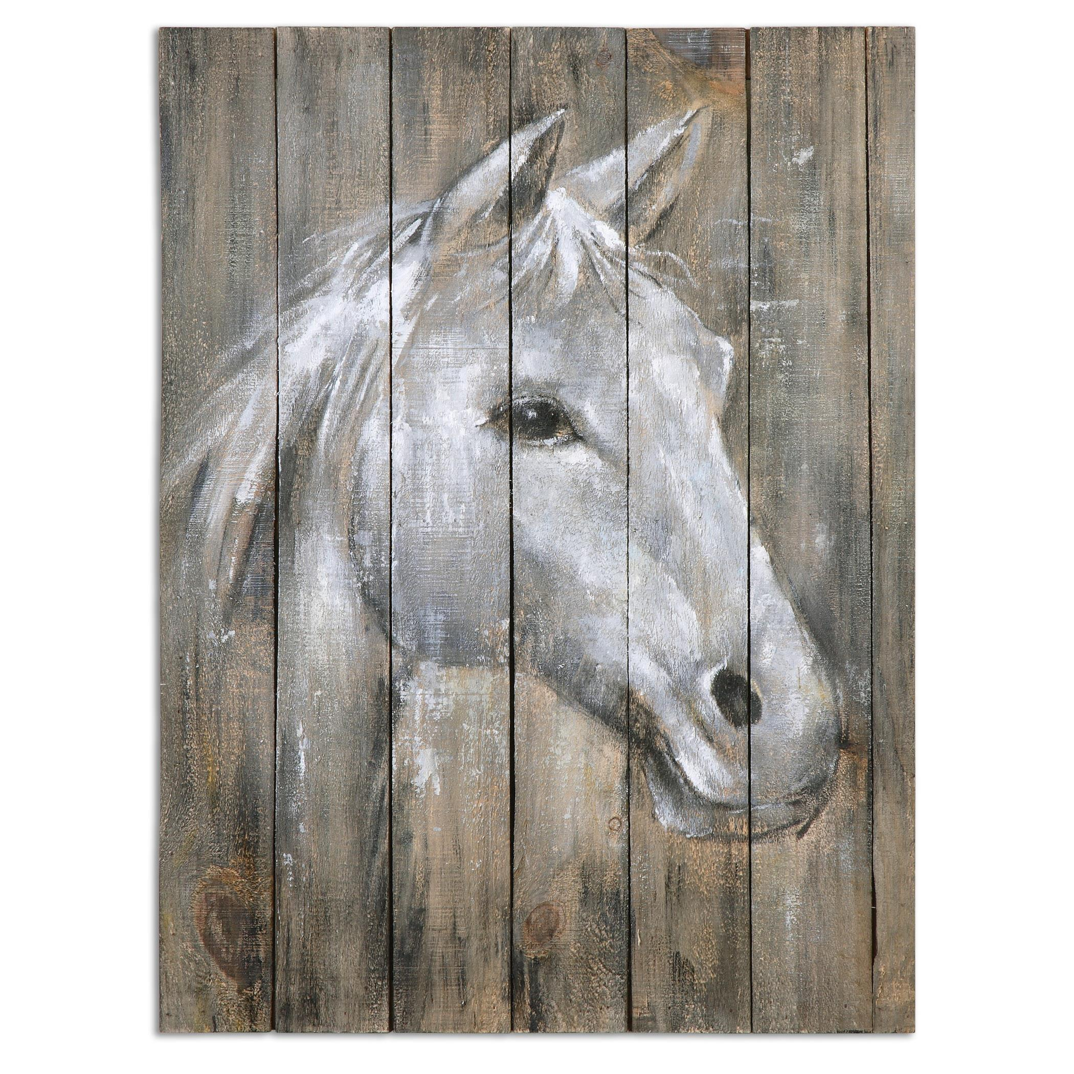 Uttermost Art Dreamhorse Hand Painted Art - Item Number: 35312