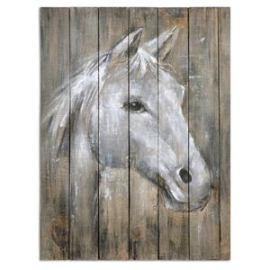 Uttermost Art Dreamhorse Hand Painted Art