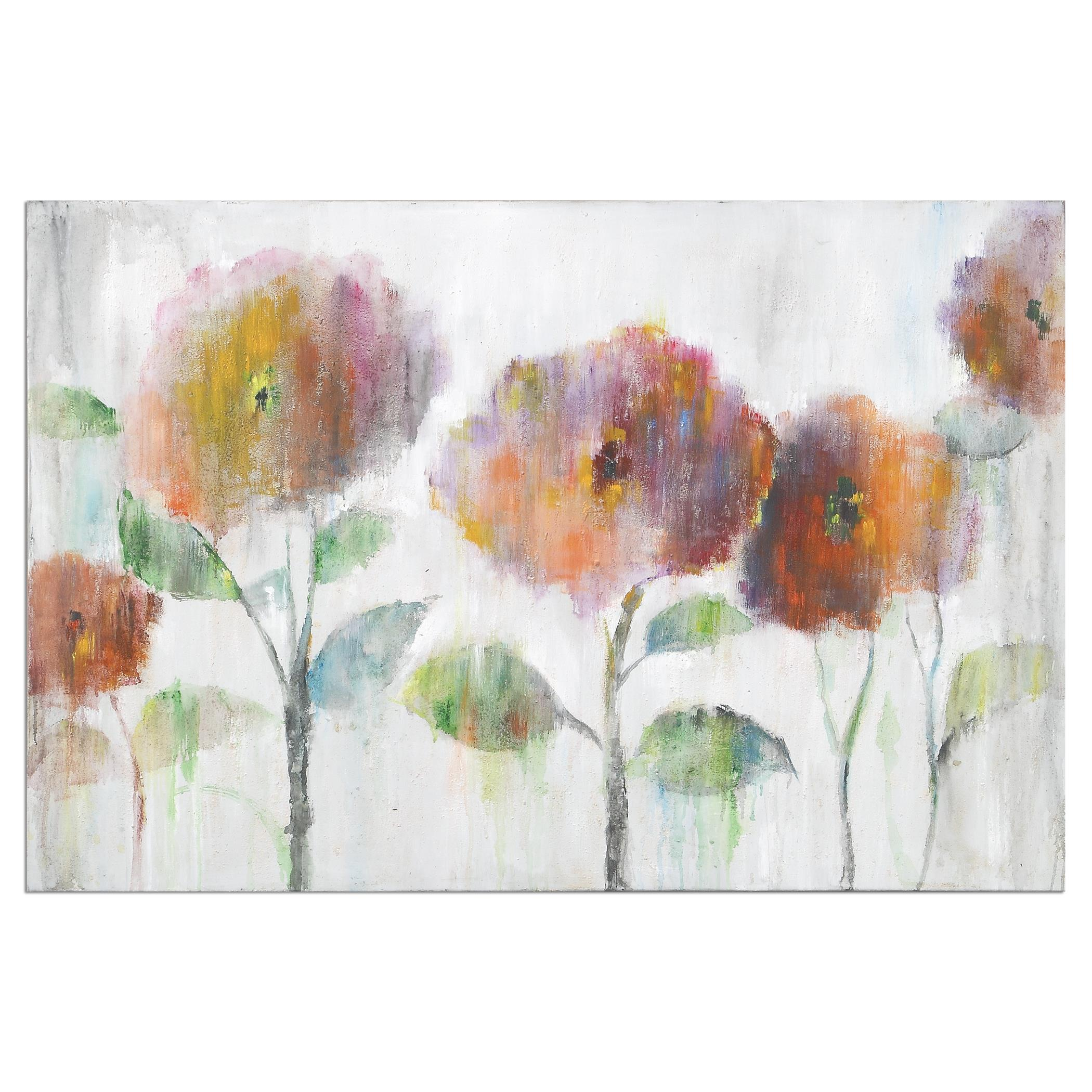 Uttermost Art Flowers Of The Rainbow Canvas Art - Item Number: 35317