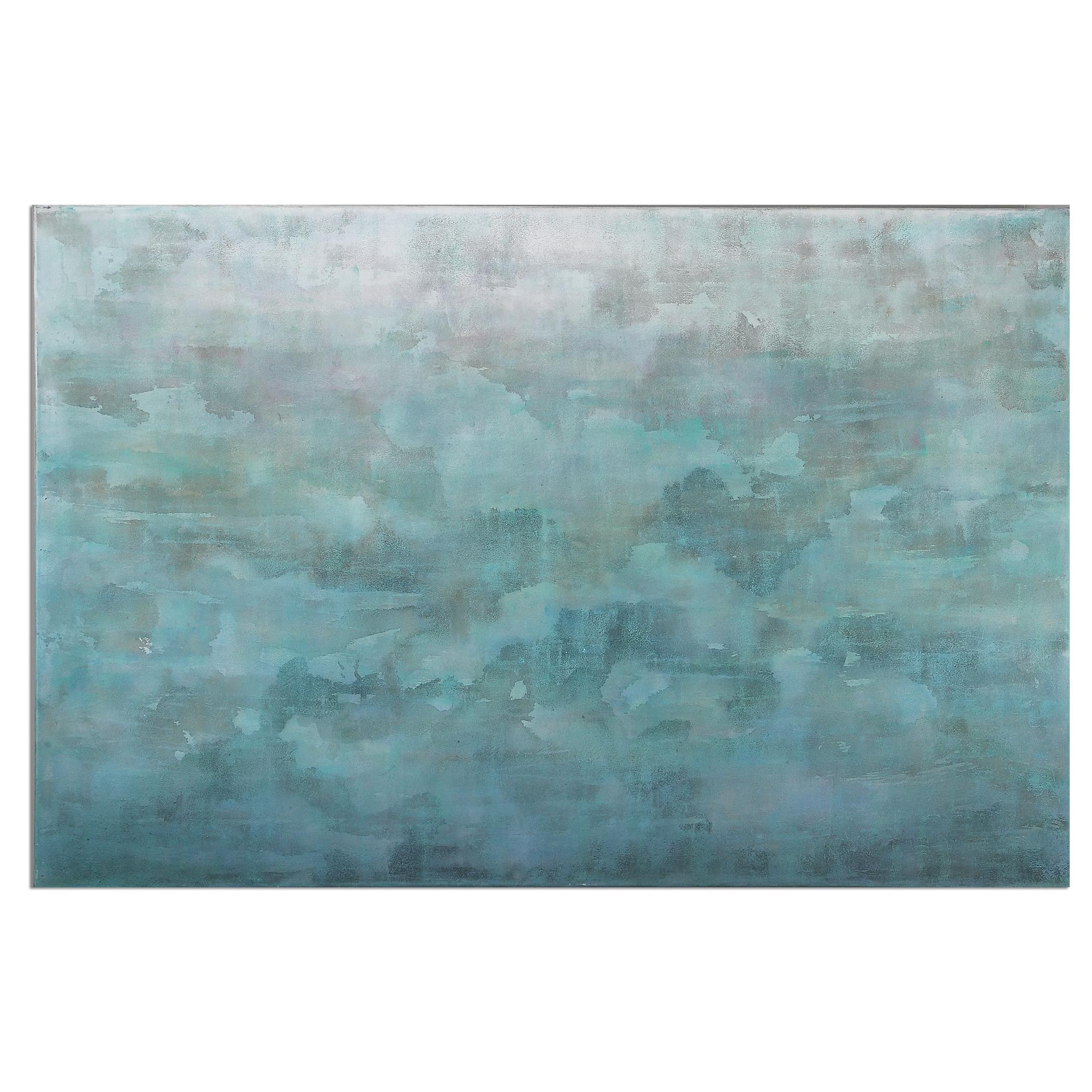 Uttermost Art Frosted Landscape Modern Art - Item Number: 35325