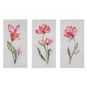 Uttermost Art Springtime Promise Floral Art, S/3