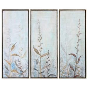 Uttermost Art Shining Florals (Set of 3)