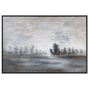 Uttermost Art Evening Mist Landscape Art