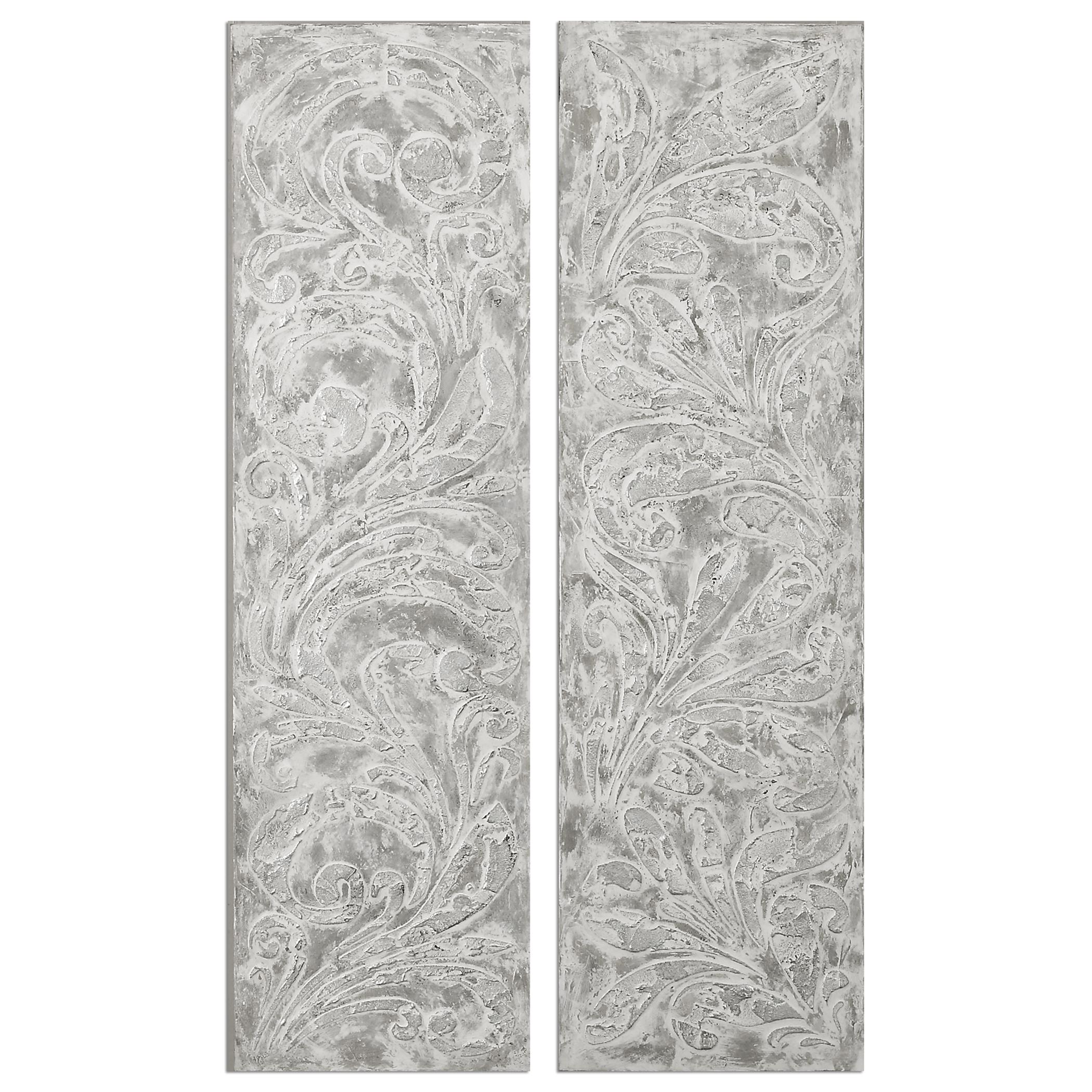 Uttermost Art Frost On The Window Wall Art, S/2 - Item Number: 35500