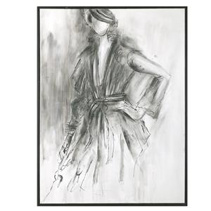 Uttermost Art Charcoal Sketch Wall Art