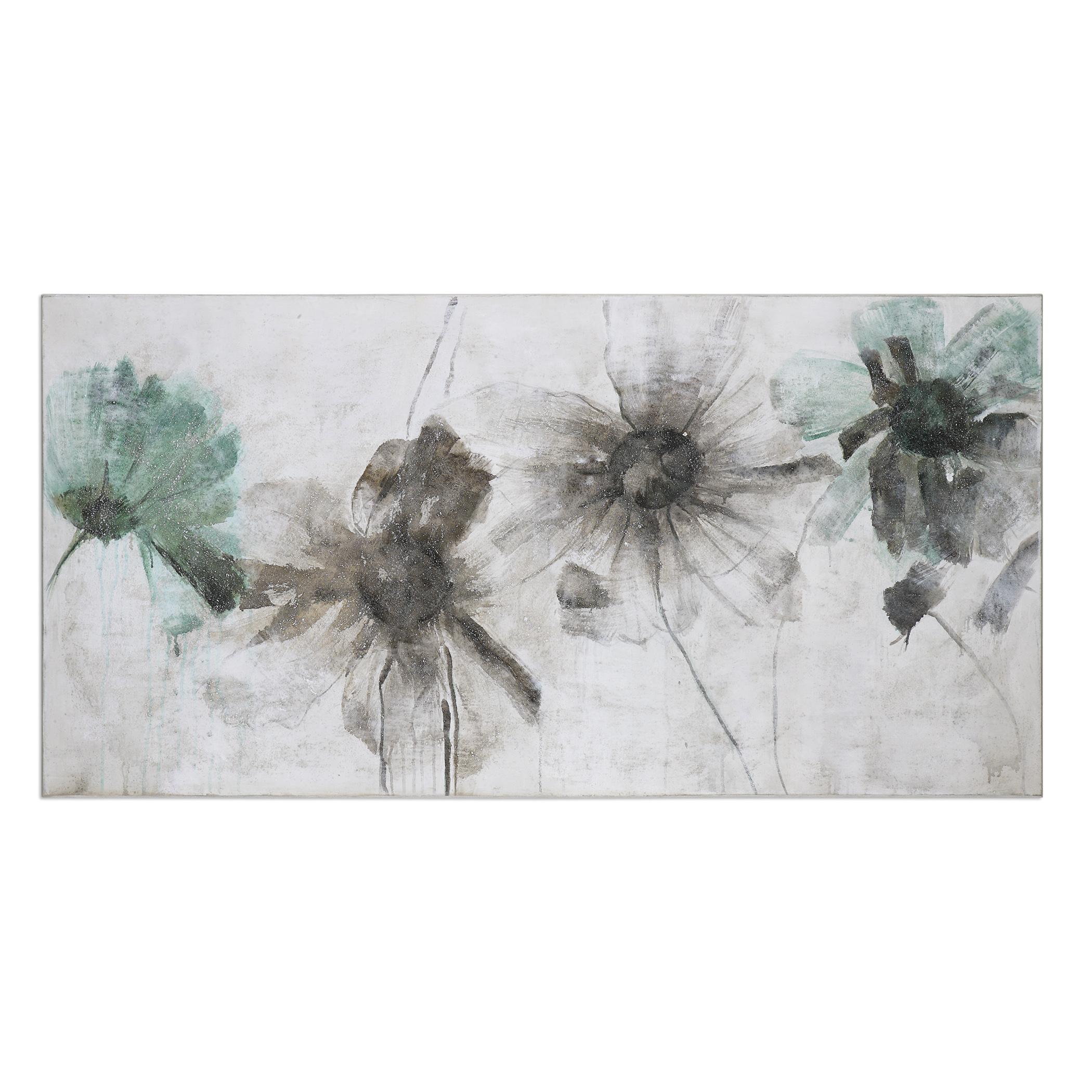 Uttermost Art Daisy Shadows Floral Art - Item Number: 36110