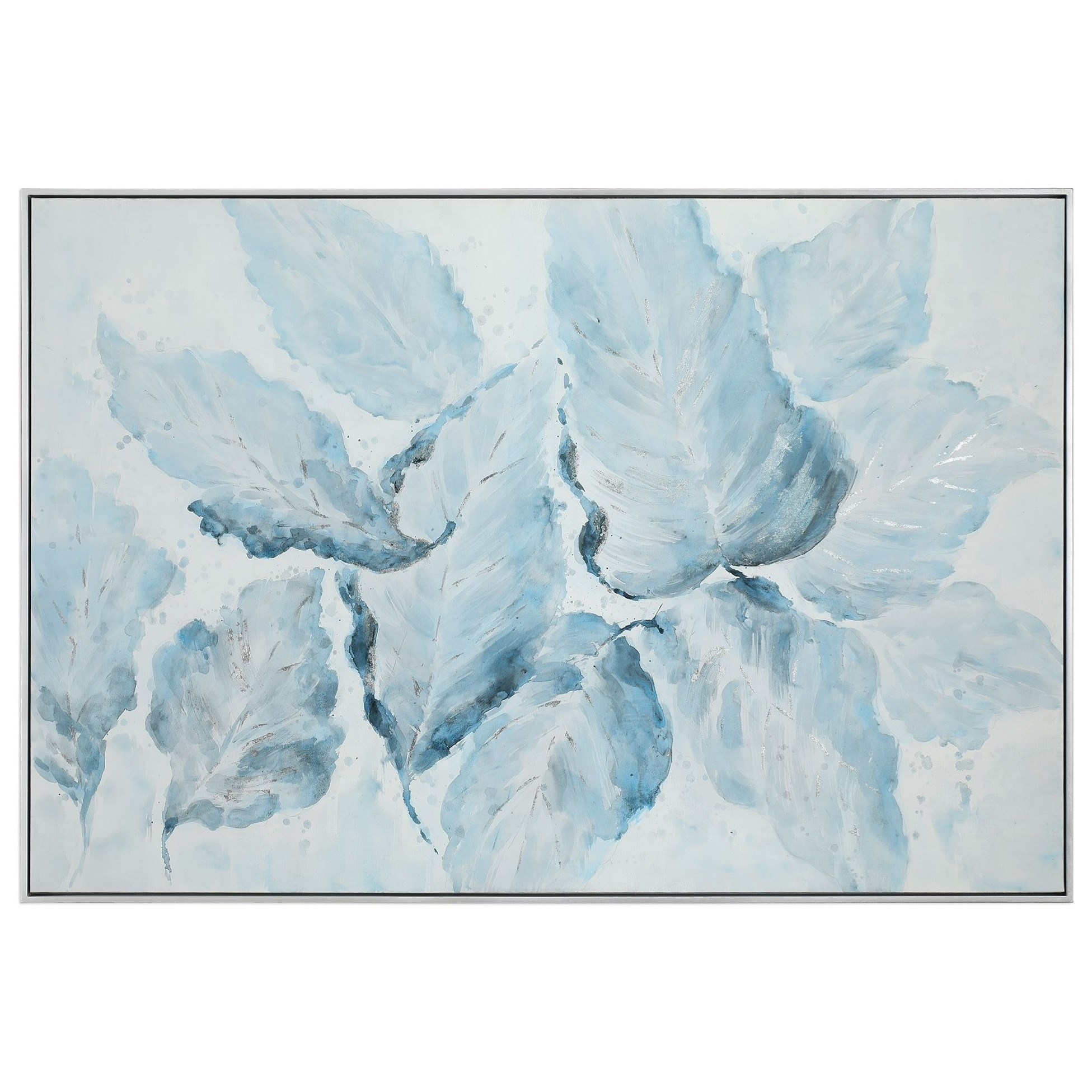 Blue Belle Floral Art