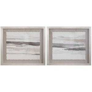 Neutral Landscape Framed Prints, Set/2