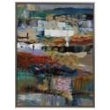 Uttermost Art Fiesta Hand Painted Canvas - Item Number: 37005