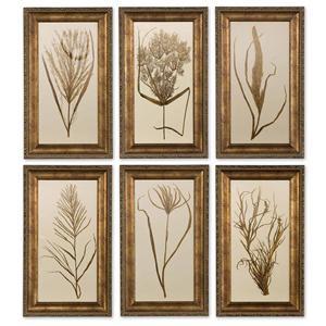 Uttermost Art Wheat Grass Set of 6