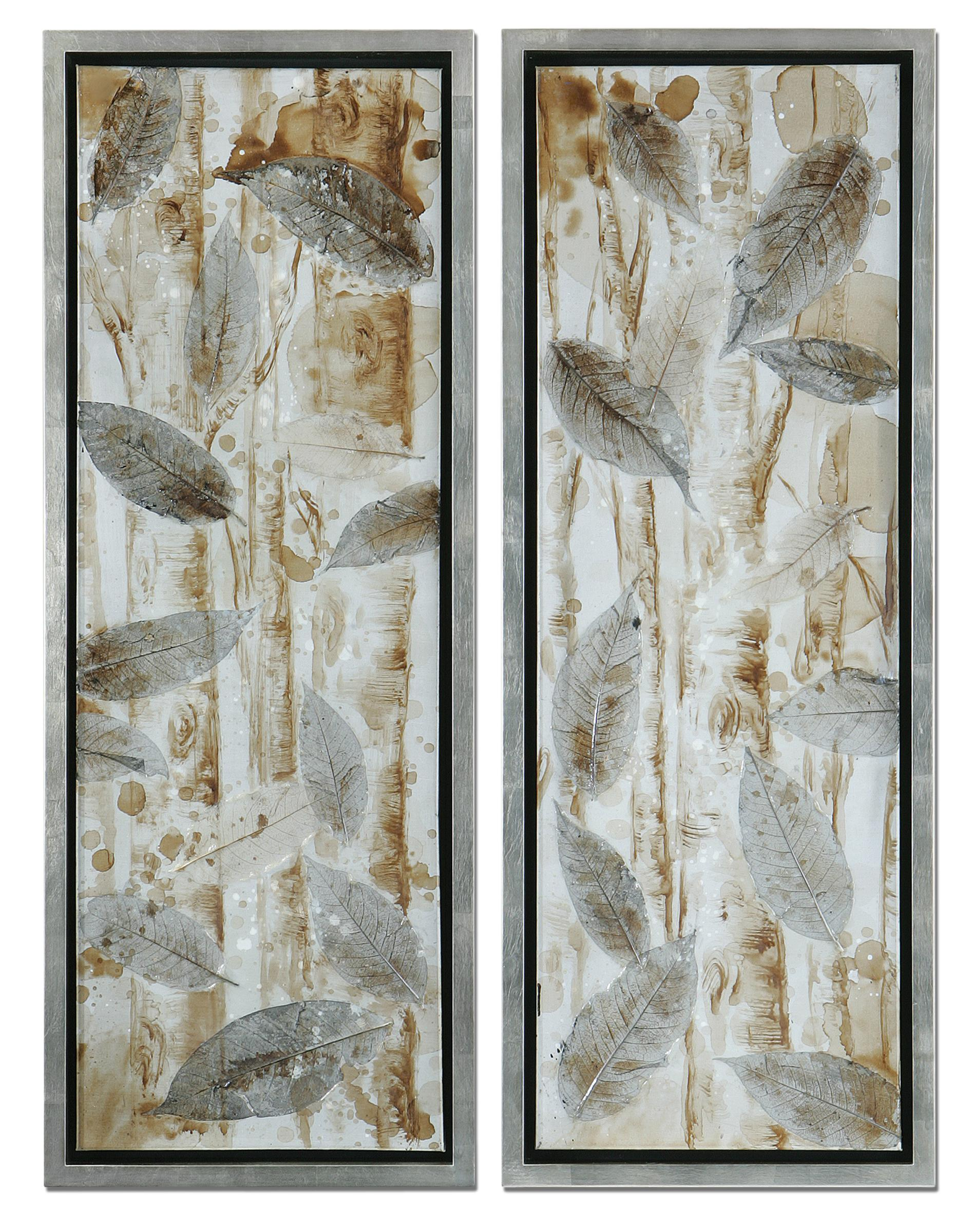 Uttermost Art Pressed Leaves - Item Number: 41412