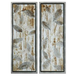 Uttermost Art Pressed Leaves