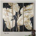 Uttermost Art Golden Palms Floral Art, S/3