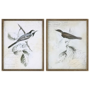 Uttermost Art  Rustic Gould Framed Print (Set of 2)