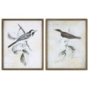 Uttermost Art  Rustic Gould Framed Print (Set of 2)