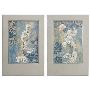Uttermost Art Blossoms Framed Art Set of 2