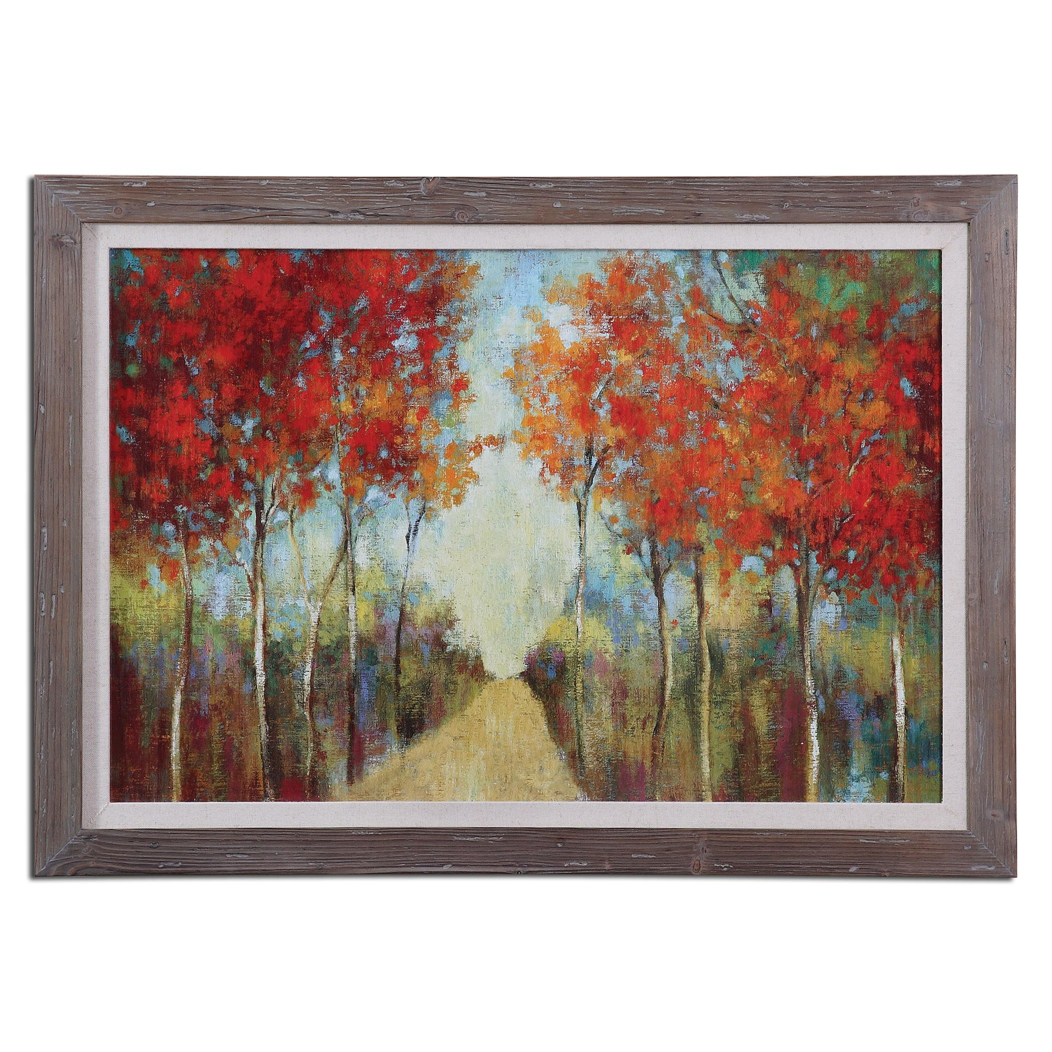 Uttermost Art Nature's Walk Landscape Art - Item Number: 41525