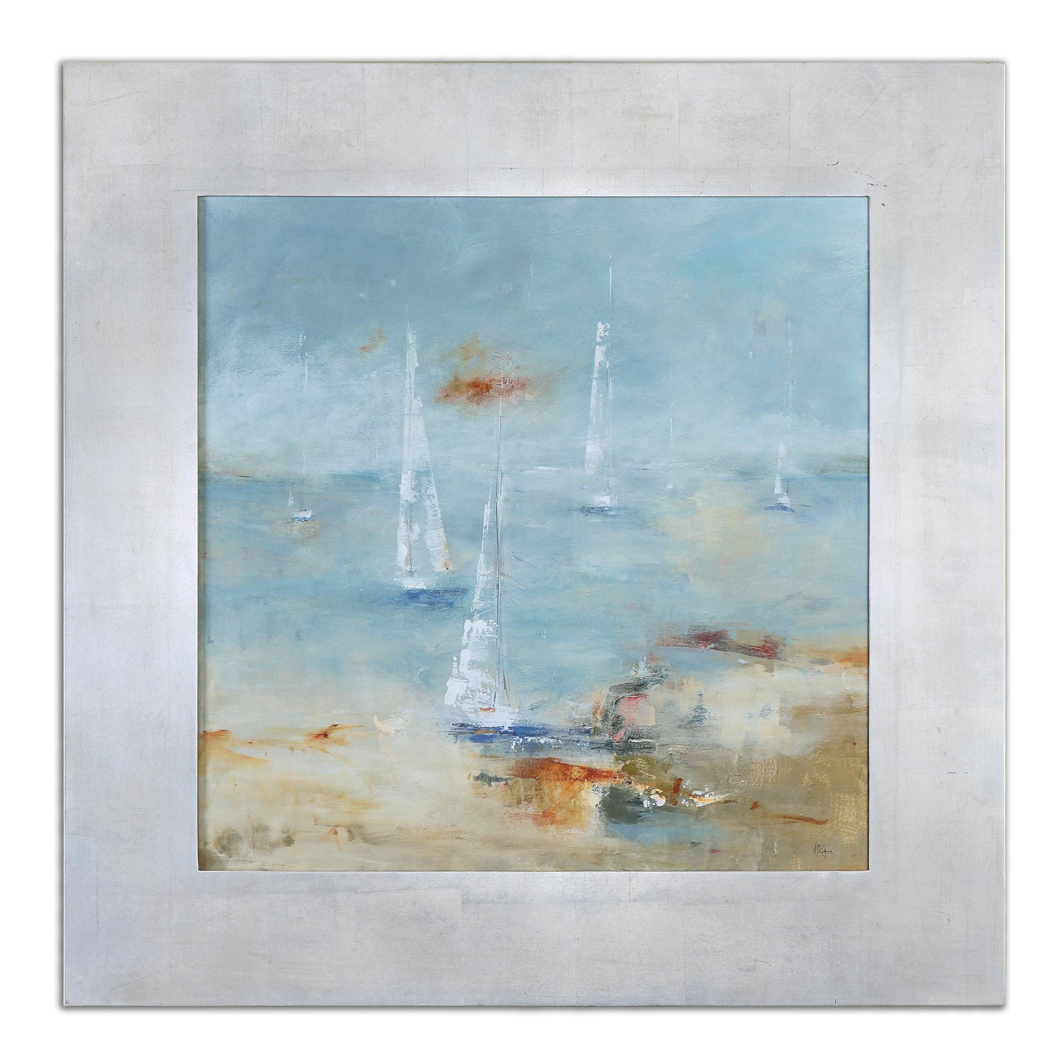Uttermost Art Sail Time Framed Art - Item Number: 41533