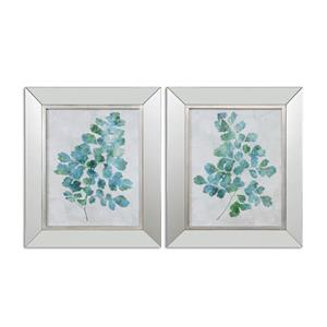 Uttermost Art Spring Leaves Framed Art, S/2